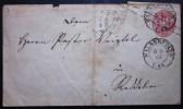 Briefmarken Brief Ganzsache Altdeutschland Preussen 1867 Gelaufen Halberstadt . - Deutschland