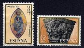 Espagne - Noël 1975 YT 1946-1947 Oblitéré - 1971-80 Gebraucht