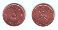 Oman 5 Baisa 1999 (1420) - Oman