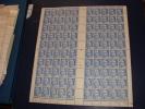 N° 717 En Feuille De 100 Timbres Neuf** - Full Sheets