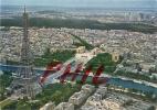 Paris - La Tour Eiffel, La Seine Et Le Palais De Chaillot, Ref 1203-661 - Eiffelturm
