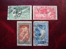 FRANCE - N° 183/186 - YT - 1924 - Jeux Olympiques De Paris. - Obl - ( Réf: Al ) - Used Stamps