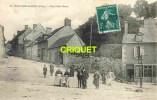 Cpa 18 Dun Sur Auron, Rue Porte Basse, Animée, Homme Avec âne...... - Dun-sur-Auron
