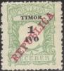 Timor 1911 Scott # J-11 Mint Issued Without Gum (cat # Writen On Reverse) - Timor