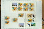 TINTIN . FRANCE  N° 3303 + 3304 + P3304 + BF 28 + BC3305 Oblitérés - Ohne Zuordnung