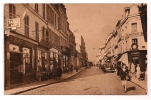 FONTAINEBLEAU - La Rue De France - Animée - Voitures - Horlogerie J. Girault - Bar-Tabac - Magasin De Cycles - - Fontainebleau