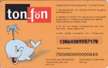 Tonga, Prepaid Card, Whale, 2 Scans. - Tonga