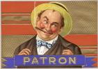 """Chromo/Boite de Cigares/""""Patron""""/ vers 1930 ?       CIG1"""