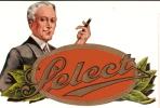 "Chromo/Boite De Cigares/""Select""/ Bruxelles/vers 1920-1930 ?       CIG2 - Etichette"