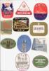 11 ETIQUETTES HOTELS ALLEMAGNE KOLN - Etiketten Van Hotels