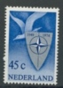 NETHERLANDS, PAYS BAS 1974 YV 1008 25th ANNI NATO, OTAN, NAVO. MNH, POSTFRIS, NEUF**. VERY FINE QUALITY. - Europa-CEPT