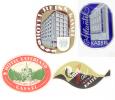 4 ETIQUETTES HOTELS ALLEMAGNE - KASSEL - Hotel Labels