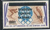 Bénin 1988 ( Ski  25F/100F)   Luxe ** - RARE - Benin – Dahomey (1960-...)