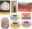 8 ETIQUETTES HOTELS ALLEMAGNE - NURNBERG - Etiketten Van Hotels