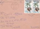 LETTER, 1983, COVER SENT TO ROMANIA, CONGO - Democratic Republic Of Congo (1997 - ...)