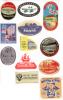12 ETIQUETTES HOTELS ALLEMAGNE - DIVERSES - Etiketten Van Hotels
