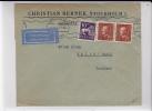 SUEDE - 1938 - ENVELOPPE PAR AVION De STOCKHOLM  Pour HALLE (GERMANY) -