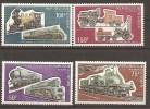 Trains Locomotives ** MNH Niger 302/05 - Eisenbahnen