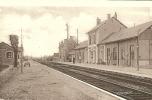CPA - 18 - AVORD - La Gare - CHER BERRY - Avord