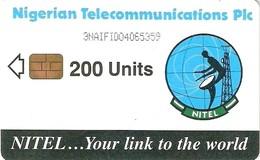 *NIGERIA* - Scheda Usata (200 Units) - Nigeria