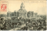 Belgica--Bruxelles--1910--Le Palais De Justice---Cachet--Exposition Bruselles - Exposiciones