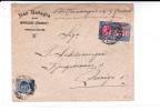 ITALIE - 1920 - ENVELOPPE COMMERCIALE EXPRES De GENOVA Pour ZÜRICH - 1900-44 Victor Emmanuel III.