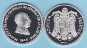 ¡¡MUY RARO!!   VERY RARE !!!!    SPAIN  (Francisco Franco) 5 PESETAS 1.949 #19-49  PROOF SC/UNC   T-DL-10.081 Aust. - 5 Pesetas