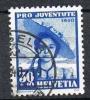 Schweiz 1940, Pro Juventute 30 Rp., MiNr. 376 Gestempelt (a271003) - Pro Juventute