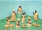 Crèche - Sculptures En Bois, Art Populaire Du Nigéria - Autres