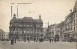 BELGIQUE - LIEGE  - CPA - PLACE DU MAL FOCH - Vue Animée - Circulée 1920 - Liege