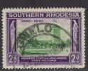 Southern Rhodesia ~ 1940 ~ BSAC Golden Jubilee ~ SG 56 ~ Used - Southern Rhodesia (...-1964)