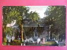 Tarrytown On The Hudson NY Old Dutch Church With Graveyard  Ca1910====== ======   == Ref 465 - NY - New York