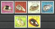 Djibouti 1982 ( Shells From The Rd Sea ) - Complete Set - MNH (**) - Yibuti (1977-...)