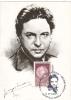 GEORGE ENESCU, GREAT COMPOSER, 2005, CM. MAXI CARD, CARTES MAXIMUM, ROMANIA - Musique