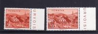 TURCHIA - TURKÍA - TURKEY 1958 CITTA´  AYDIN TOWN SERIE COMPLETA MNH - Neufs