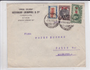 GRECE - 1935 - ENVELOPPE COMMERCIALE Par AVION De ATHENES Pour HALLE (GERMANY) - - Grecia