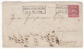 Norddeutscher Postbezirk GA (Brief) Gest. 1870 !!! - Norddeutscher Postbezirk