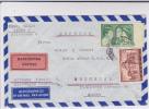 GRECE - 1952 - ENVELOPPE COMMERCIALE EXPRES Par AVION De ATHENES Pour BRUCHSAL (BADEN) - - Airmail