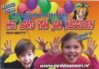 NL.- Sticker - Het Land Van Jan Klaassen. - Stickers