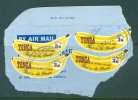 Tonga: 1969    Coil Stamp    SG282    3/-       Used On Piece - Tonga (...-1970)