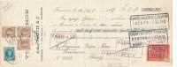 920/18 - Mandat TP Houyoux HUY 1928 - Entete Violet Shoe , Arthur Fakette § Co à FRAMERIES - 1922-1927 Houyoux