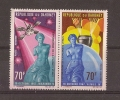 DAHOMEY - BANDE 2 TIMBRES NEUFS** N° 71/72 - PA - 1968 - EXPLORATION DE LA PLANETE VENUS - - Bénin – Dahomey (1960-...)