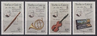 Turks & Caicos // 300 Ann J.S. Bach // 4v Neufs - Turks & Caicos