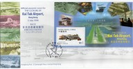 FDC De Chine : 1998 Hong Kong - Inauguratio De Hong Kong International Airport - 1997-... Région Administrative Chinoise