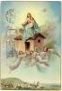 LORETO - MADONNA CON BAMBINO - ANGELI - 1965 - Vierge Marie & Madones