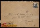 RARE - CENSOR CERTIFICADO 1942 - AMBULANT MINAS DE LIERAS  VIA ALLEMAGNA Vers BRUXELLES BELGICA - EMA PRINT MACHINE BACK - 1931-Aujourd'hui: II. République - ....Juan Carlos I