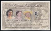 Tuvalu MNH Scott #913 Sheet Of 3 $2 Queen Elizabeth II - 50th Anniversary Of Coronation - Tuvalu