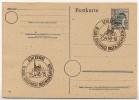 Sost. ST-PETRI-DOM SCHLESWIG 1948 Auf Postkarte Alliierte Besetzung P962 - Iglesias Y Catedrales