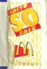 McDONALD´S * McCAFE * SUGAR * SALT * Mc So 1998-2001 * Hungary - Sugars
