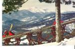 Mount Cranmore Skimobile (Upper Unit) North Conway, New Hampshire  Mount Washington  In Background - White Mountains